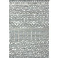 Farmhouse 316 Grey distressed vintage style new area rug large boho (2 x 7  hallway runner)