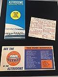 1966 Houston Astros Astrodome Stadium Schedule Brochure Texas Packet