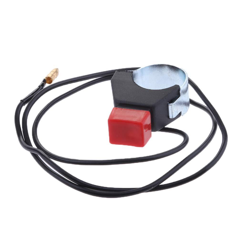 D DOLITY 1 Pieza Interruptor Botó n de Apagado de Arranque para Dirtbike Reparació n 22 mm