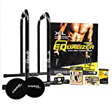 Lebert Equalizer Bonus Pack Dip Station and Synergee Core Sliders - Black Combo