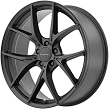 "KMC Wheels KM694 Wishbone Satin Black Wheel (20x9.5""/5x120mm, +38mm offset)"