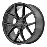 KMC Wheels KM694 Wishbone Satin Black Wheel (20x8.5''/5x120mm, +38mm offset)