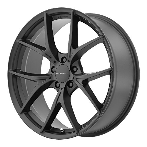 "KMC Wheels KM694 Wishbone Satin Black Wheel (18x8""/5x114.3mm, +35mm offset)"