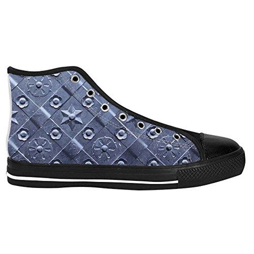 Schuh Turnschuhe top D Schuhe Leinwand High up Segeltuchschuhe Dalliy Canvas Lace shoes Sneakers Mens Metal xww4q7H