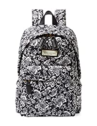 Marc by Marc Jacobs Quilted Paisley Nylon Backpack - Black Multi
