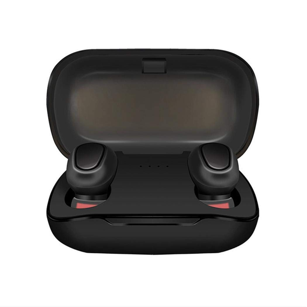 edited Bluetooth Binaural Stereo Wireless Waterproof in-Ear Earphone with Charging Case Bluetooth Headsets