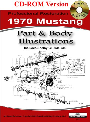 1970 Mustang Restoration - 1970 Mustang Part and Body Illustrations