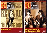 Billy The Kid , Butch Cassidy And The Sundance Kid : The History Channel 2 Pack Collection