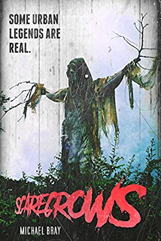book cover of Scarecrows