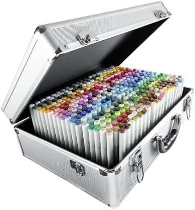 Copic CZ21075450 - Juego de 358 rotuladores (maletín metálico), tinta multicolor: Amazon.es: Oficina y papelería
