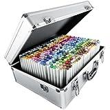 Copic Sketch Lot de 358 marqueurs dans une valise métallique Multicolore