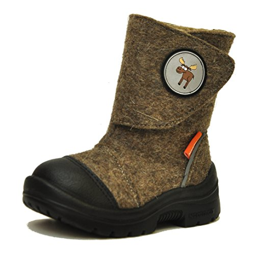Nordman Valenki Felt Boot With Velcro (Toddler/Little Kid) (Felt Valenki)