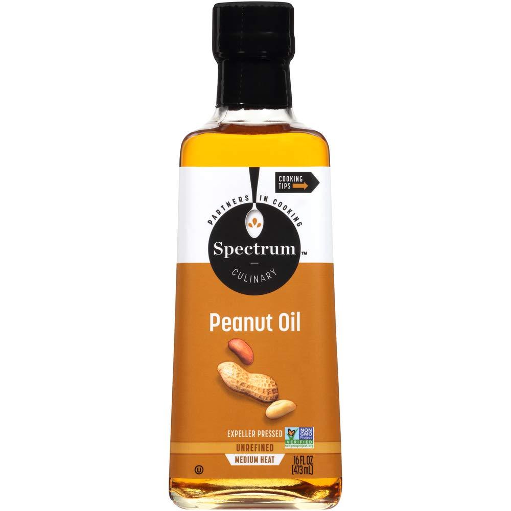 Spectrum Unrefined Peanut Oil, 16 oz