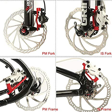 Bike Rotor PM//IS Converter Disc Brake Adaptor Bicycle Accessories A To B