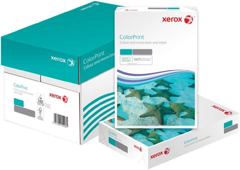 Xerox Colour Print 003R96602 - Papel para impresoras láser a color (DIN A4, 120 g/m², caja con 4 resmas de 500 hojas): Amazon.es: Oficina y papelería