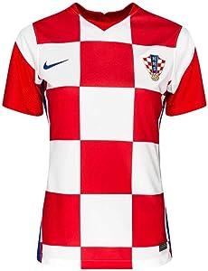 Nike 2020-2021 Croatia Womens Home Football Soccer T-Shirt Jersey