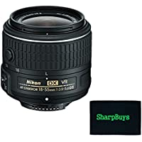 Nikon 18-55mm f/3.5-5.6G VR II AF-S DX NIKKOR Zoom Lens (White Box) Lens For Nikon D300s Digital SLR Cameras