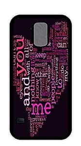 NBcase Valentine's Day Love Heart Hard PC case for samsung galaxy s5