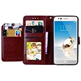 Alkax Wallet Case for LG Tribute Dynasty/LG Aristo