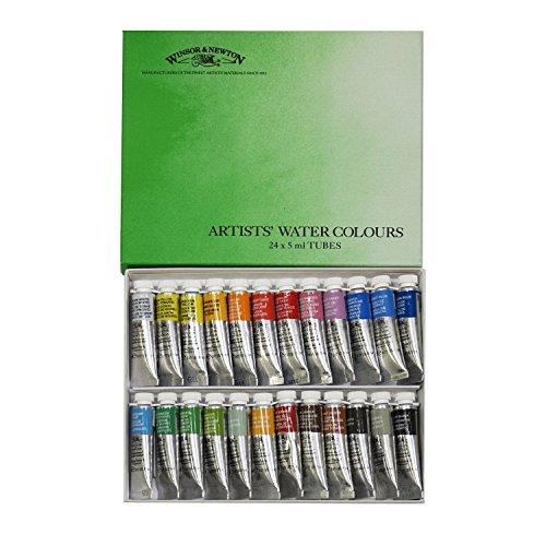 Windsor & Newton artist WaterColor 5ml 24 color set
