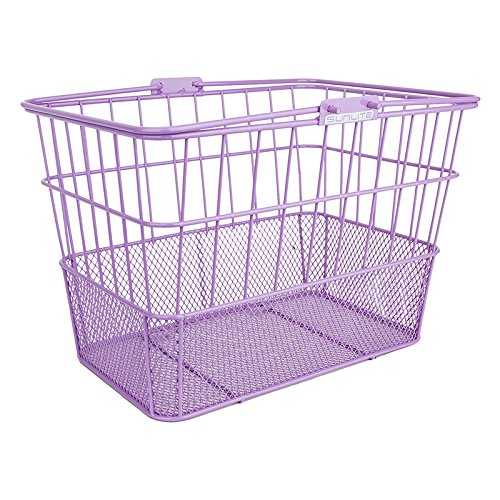 Sunlite Standard Mesh Bottom Lift-Off Basket w/Bracket, Purple