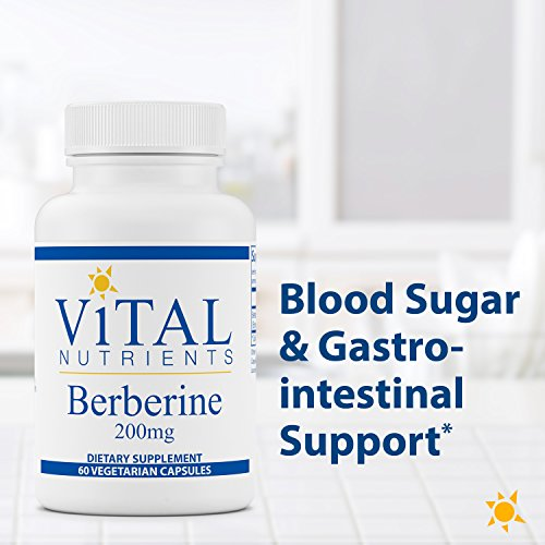 Vital Nutrients - Berberine 200 mg - Supports Regular and Normal Bowel Function - 60 Capsules by Vital Nutrients (Image #2)