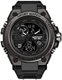 Men's Military Watch Outdoor Sports Electronic Watch Tactical Army Wristwatch LED Stopwatch...