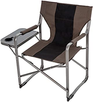 Folding Camping Chair Cup Holder Carry Bag Lightweight Portable Fishing Seat