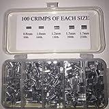 500 Piece Aluminum Crimp Kit