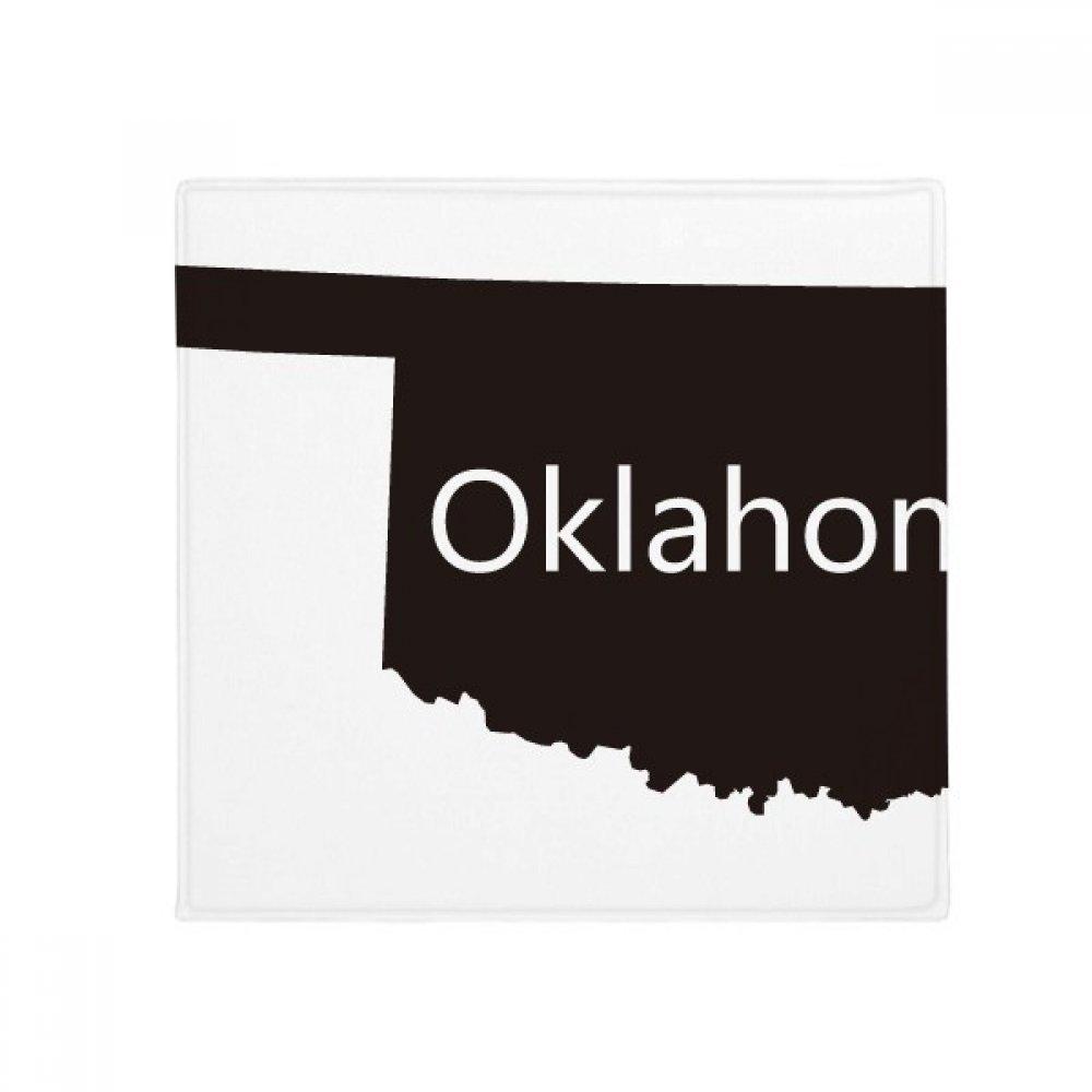 DIYthinker Oklahoma America USA Map Silhouette Anti-Slip Floor Pet Mat Square Home Kitchen Door 80Cm Gift