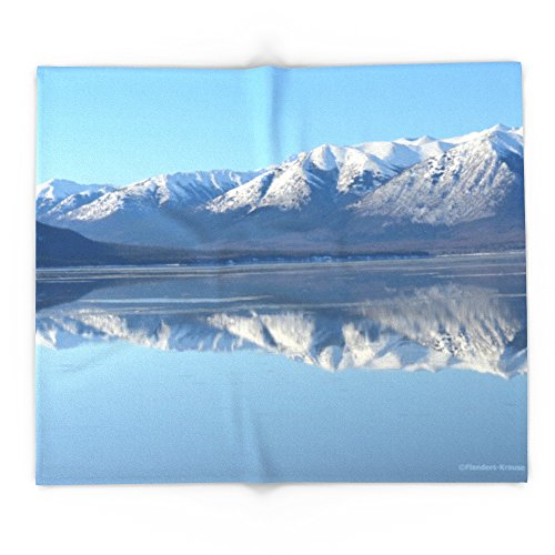 Society6 Turnagain Arm Mirror - Alaska 88'' x 104'' Blanket by Society6