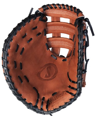 Spalding True to the Game Series Dual Cross Bar Web 12.5-inch First Base Glove - Right-Handed Thrower (42-067)