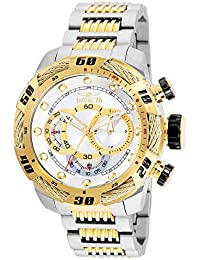 Men's Speedway Quartz Stainless-Steel Strap, Two Tone, 24 Casual Watch (Model: 25480)