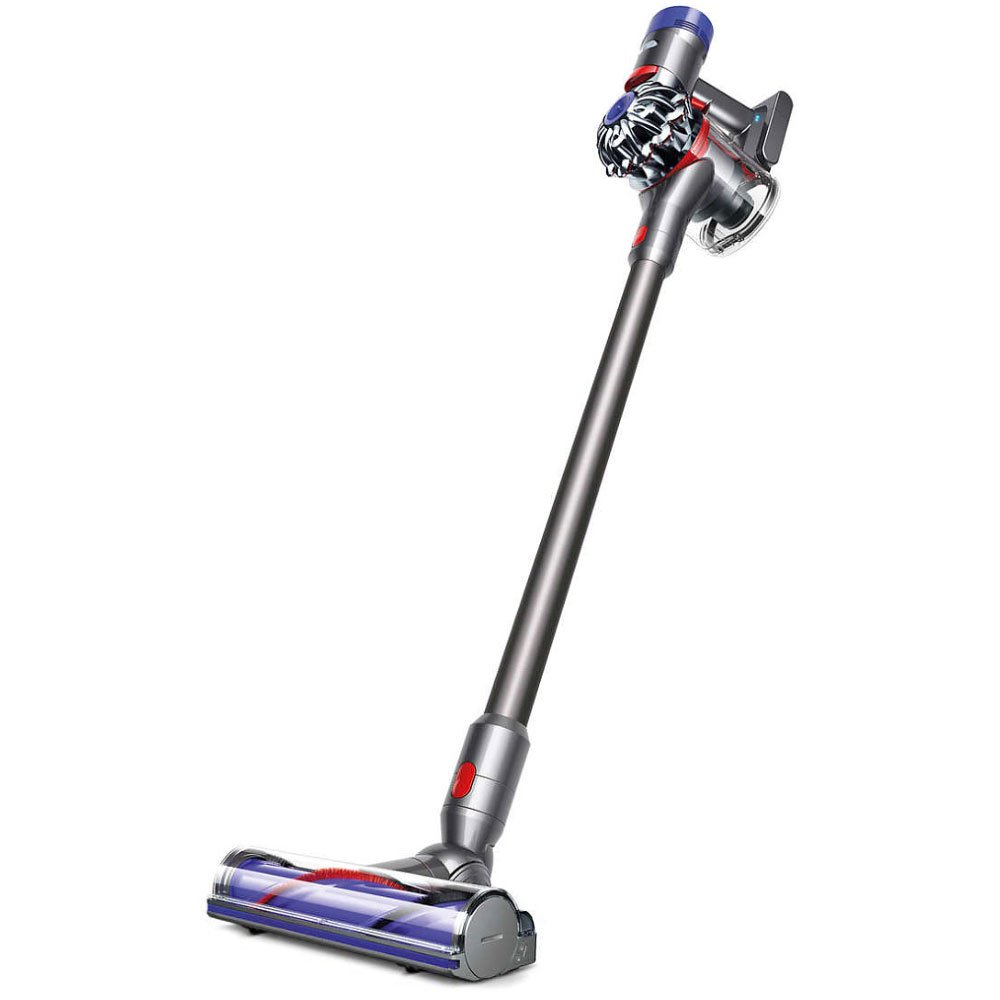 Dyson V7 Animal Cordless HEPA Vacuum Cleaner + Direct Drive Cleaner Head + Wand Set + Mini Motorized Tool + Dusting Brush + Docking Station + Combination Tool + Crevice Tool