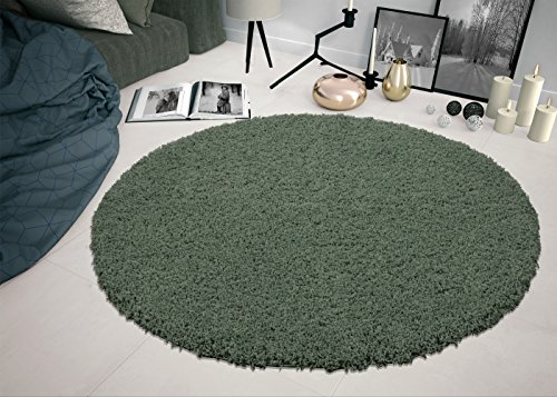 Sweet Home Stores COZY6506-ROUND Shaggy Rug, 5'3