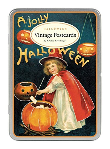 Cavallini & Co. Halloween Glitter Greetings Postcards for $<!--$12.00-->