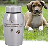 ENBOVE Funeral Cremation Urns for Dogs Cats, in