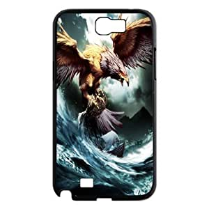 James-Bagg Phone case Eagle pattern art For Samsung Galaxy Note 2 Case FHYY393606