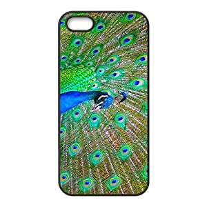Proud as a Peacock Hight Quality Plastic Case for Iphone 5s by mcsharks