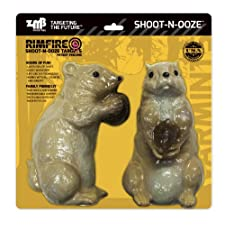 Shoot-n-ooze Prairie Dogs Rimfire bleeding Zombie Industries Hunting Shooting Rifle Targets
