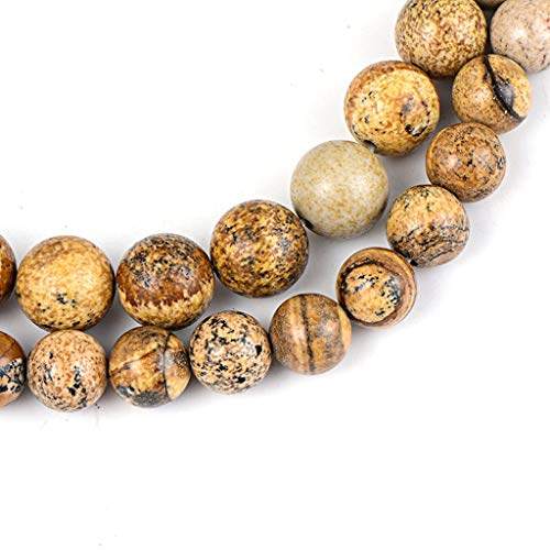 Arm Decoration 6mm 8mm 10mm Organic Stone Beads Tiger Attention Bulk Stones Beads with Regard to DIY Jewelry Making Band Necklace Accessories
