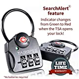 Tarriss TSA Luggage Lock with SearchAlert