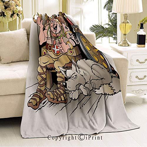 Boy and Girl Blanket,Living Room/Bedroom Warm Blanket,36