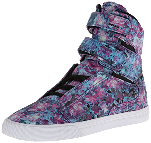 Floral II Women Sneakers Society Sneakers Supra Women White Black wtxSqSY4