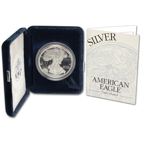 1995 P American Silver Eagle Proof $1 OGP U.S. Mint ()