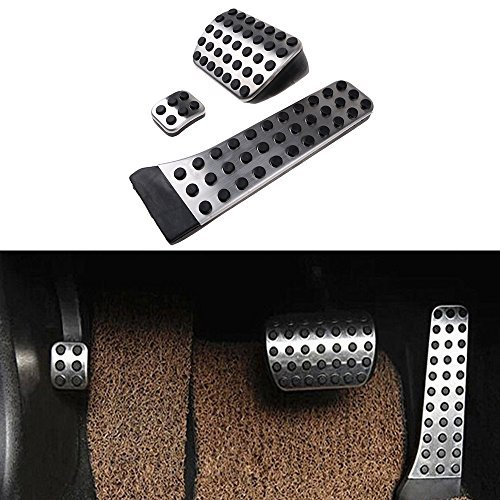 Price comparison product image No Drill Fuel Brake Foot Pedals for Mercedes Benz C E S GLK SLK CLS Sl Class