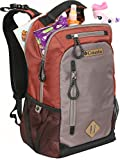 Columbia Carson Pass Backpack Diaper Bag, Rust, Large