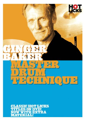 Ginger Baker - Master Drum Technique - DVD