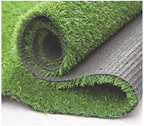 PING- 人工芝、 高密度パイル高さ20mm 排水穴付き 草を落とさない 長い使用時間 中庭のバルコニー舗装芝生 4サイズ (Size : 2m×3m)