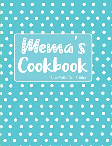 Mema's Cookbook Blue Polka Dot Edition by Pickled Pepper Press